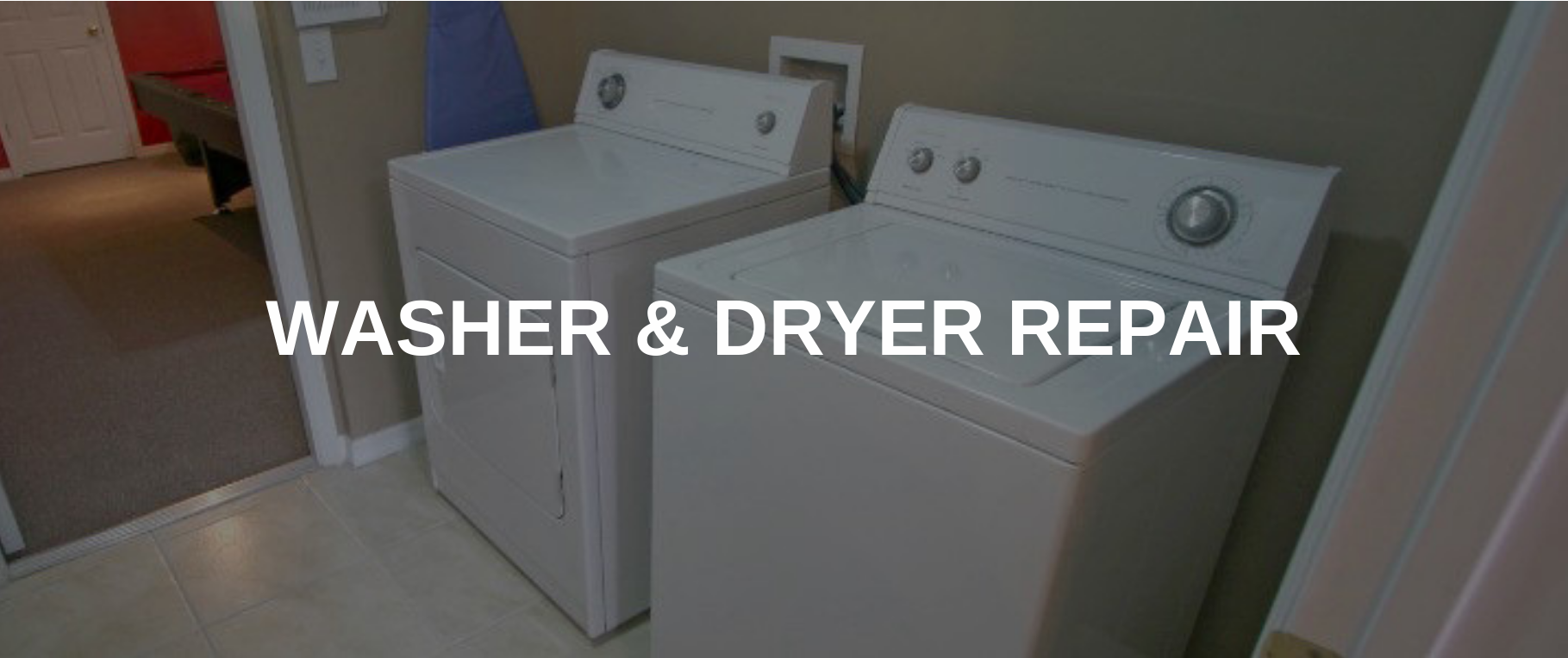 washing machine repair hartford